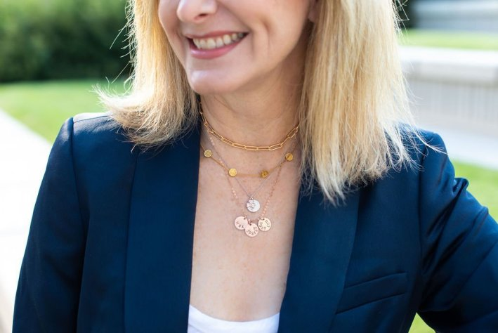 How to Layer Necklaces Like a Pro featured by top US fashion blogger and expert, Tanya Foster