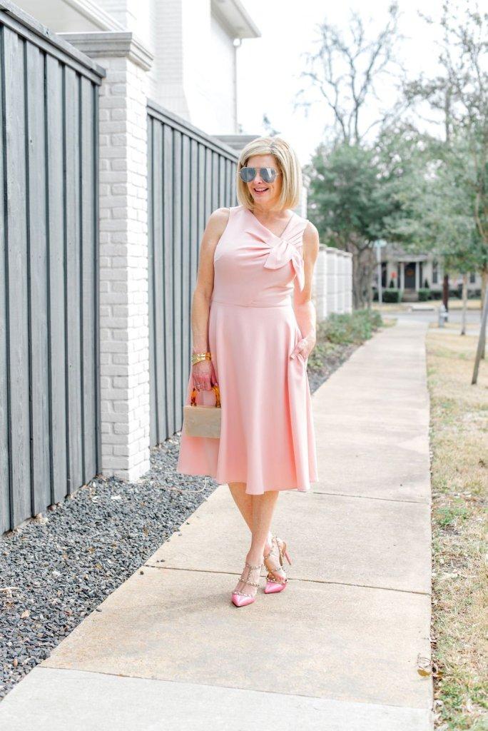 Harper Rose dress, Nest Jewelry
