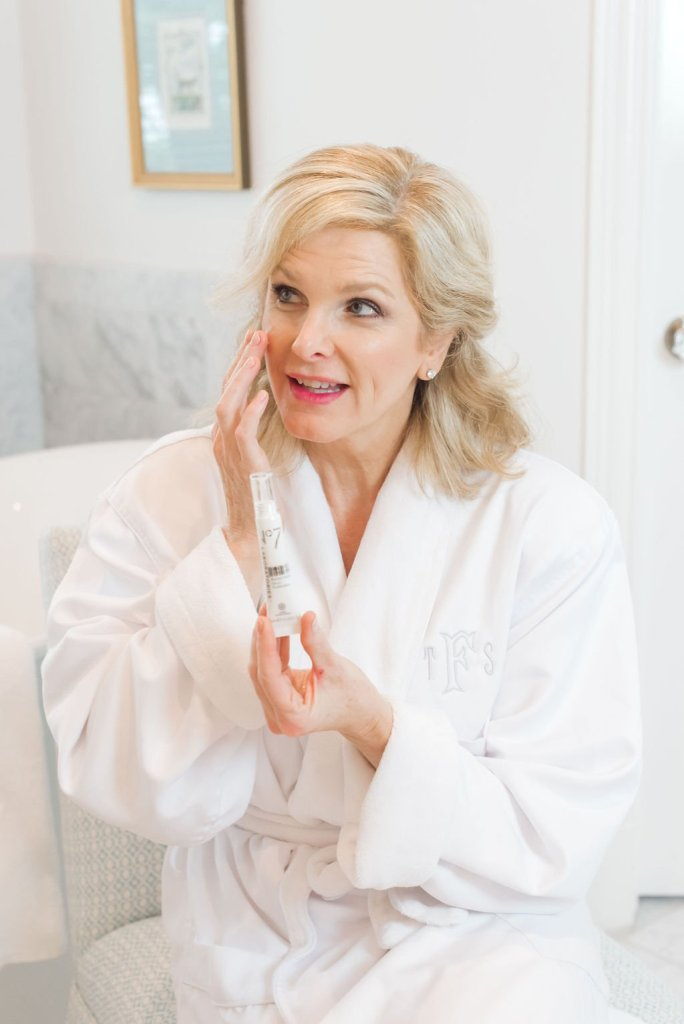 No7 Laboratories Dark Spot Correcting Booster Serum review featured by top US beauty blogger, Tanya Foster