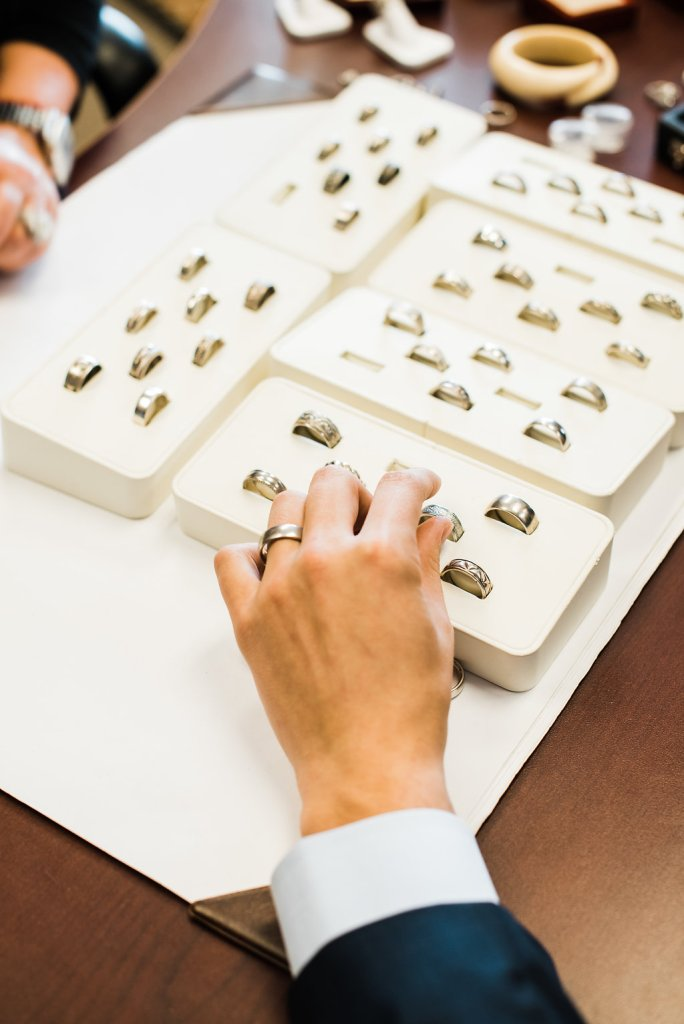 How to pick your wedding bands with JPratt Designs