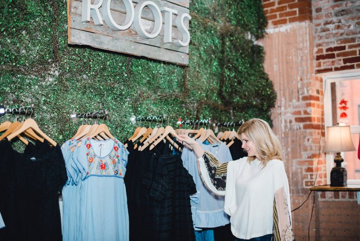 roots boutique, thml, free people, rhythm, maaji, waco