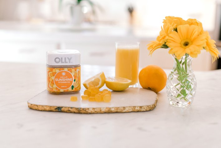 OLLY ENERGY and SUNSHINE vitamins on TanyaFoster.com