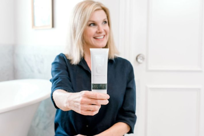 Tanya Foster using OMOROVICZA skincare