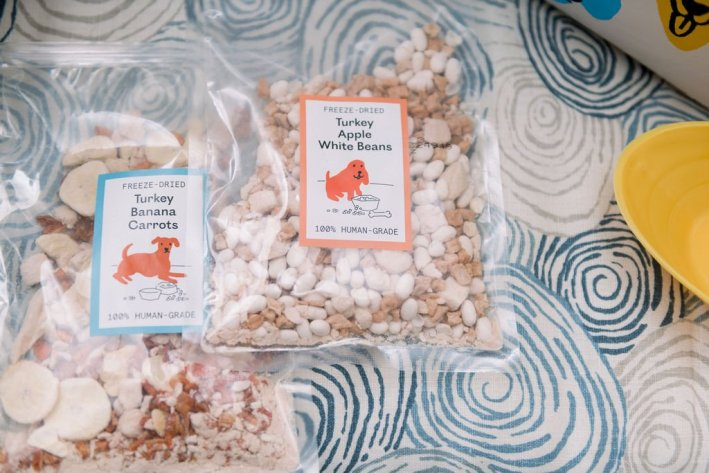 Heed Foods food toppers for dogs