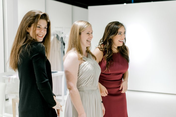 How to select your bridesmaids dresses with Watters on TanyaFoster.com