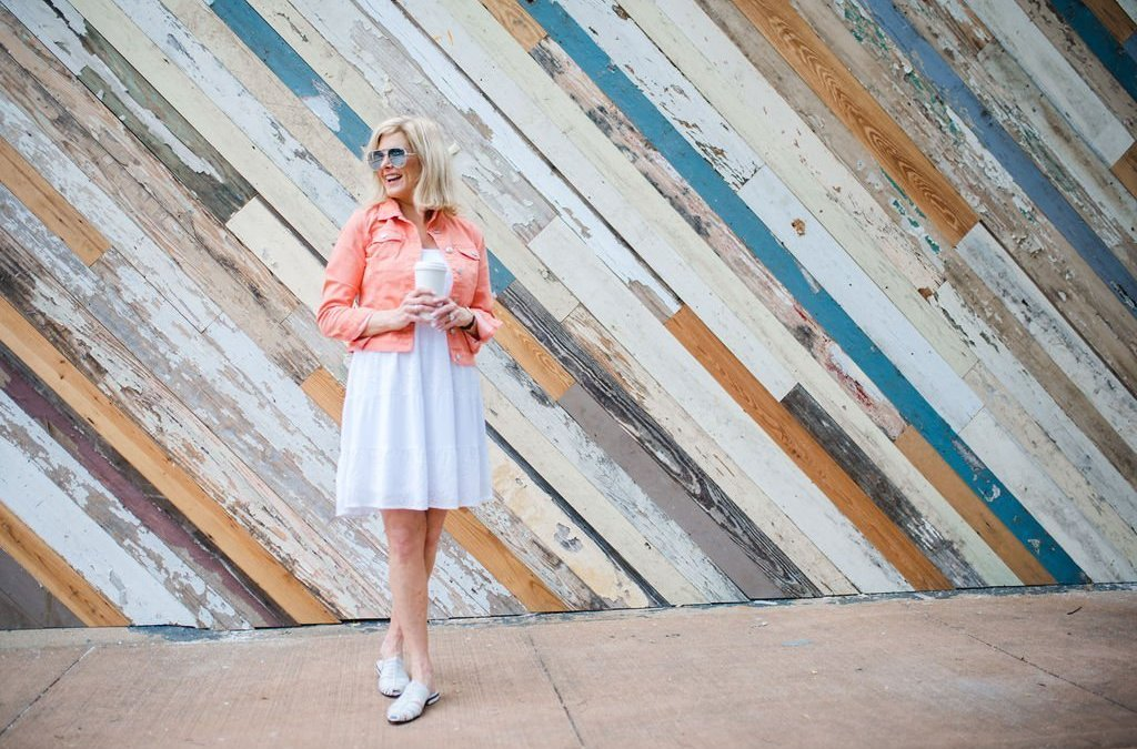 How to Style White Eyelet