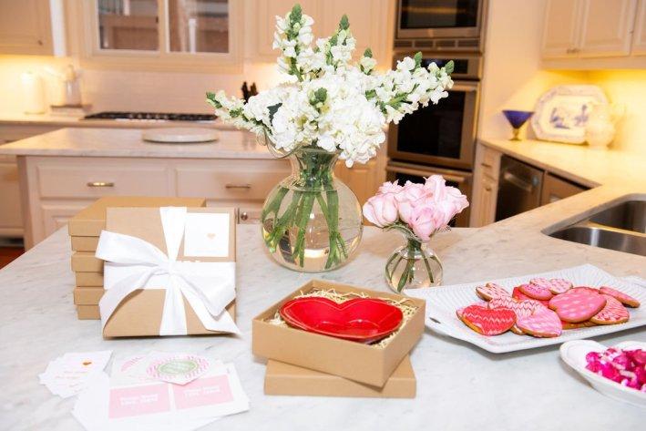 Vietri Valentine's Day decorations