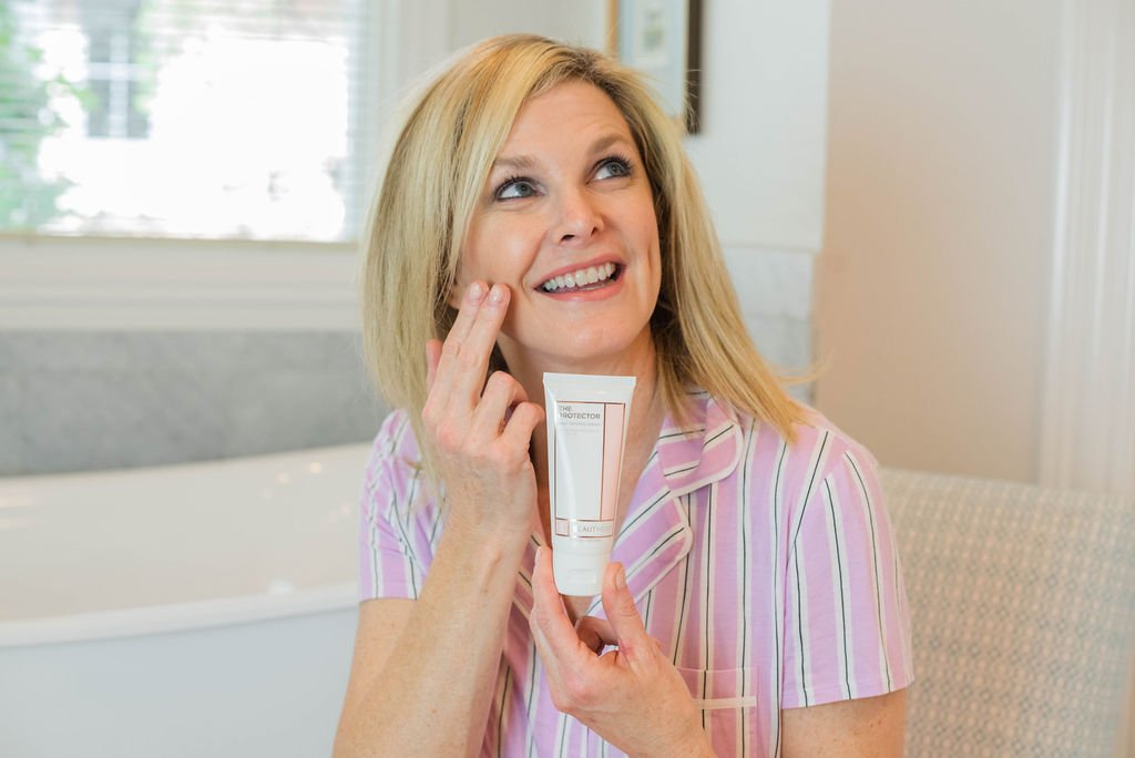 Beauty Bio Protector Daily Defense Cream review featured by top US beauty blogger, Tanya Foster