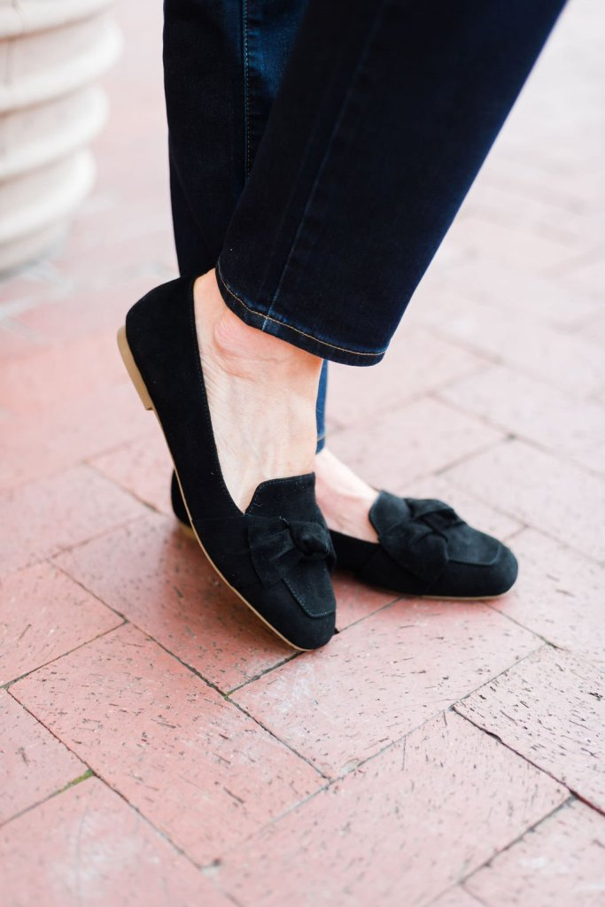 Talbots black shoes