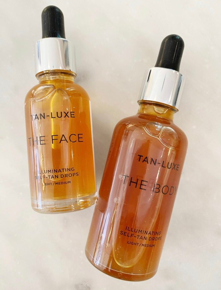 tan luxe the face and the body tanning drops