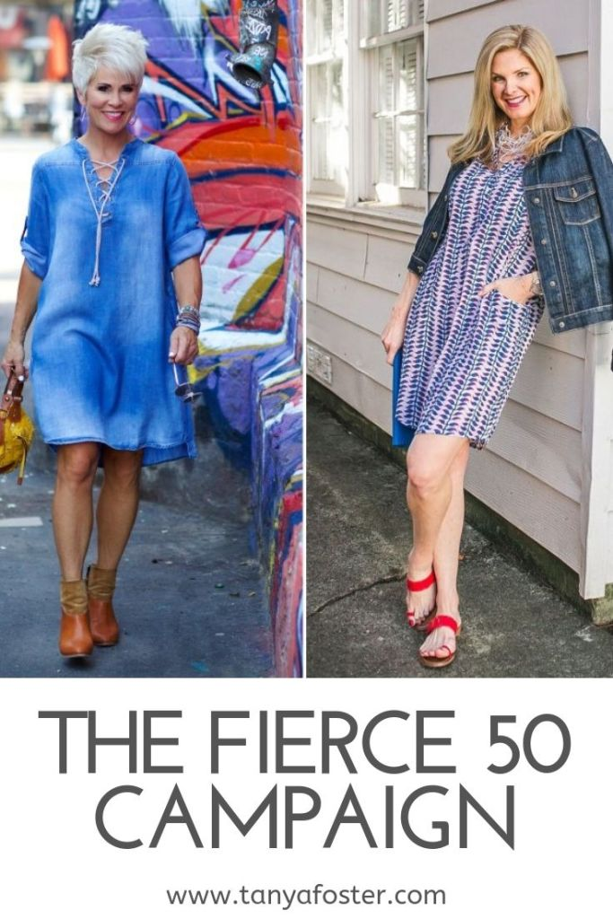 The Fierce Fifty Campaign Tanya Foster and Shawna Robertson