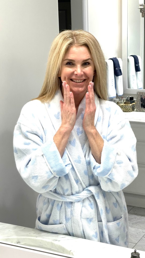 Tanya Foster with Elemis