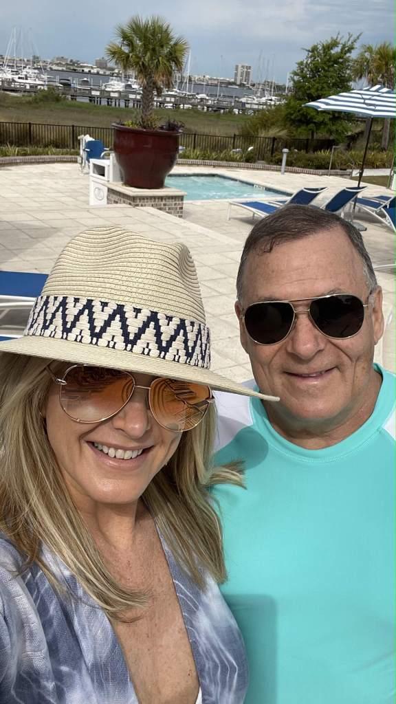 Tanya and Pete at Charleston Beach Club