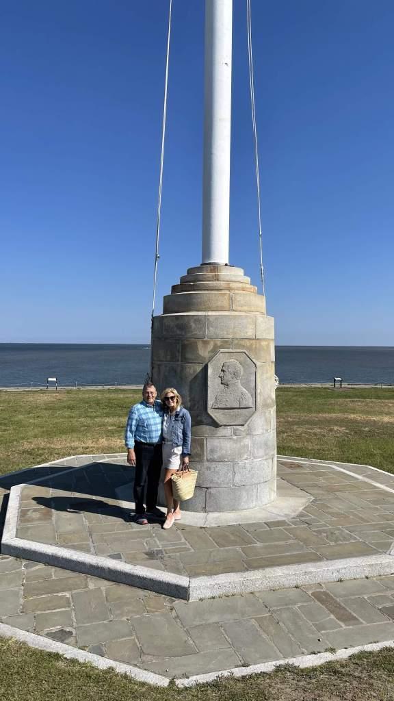 Tanya and Pete at Ft. Sumter