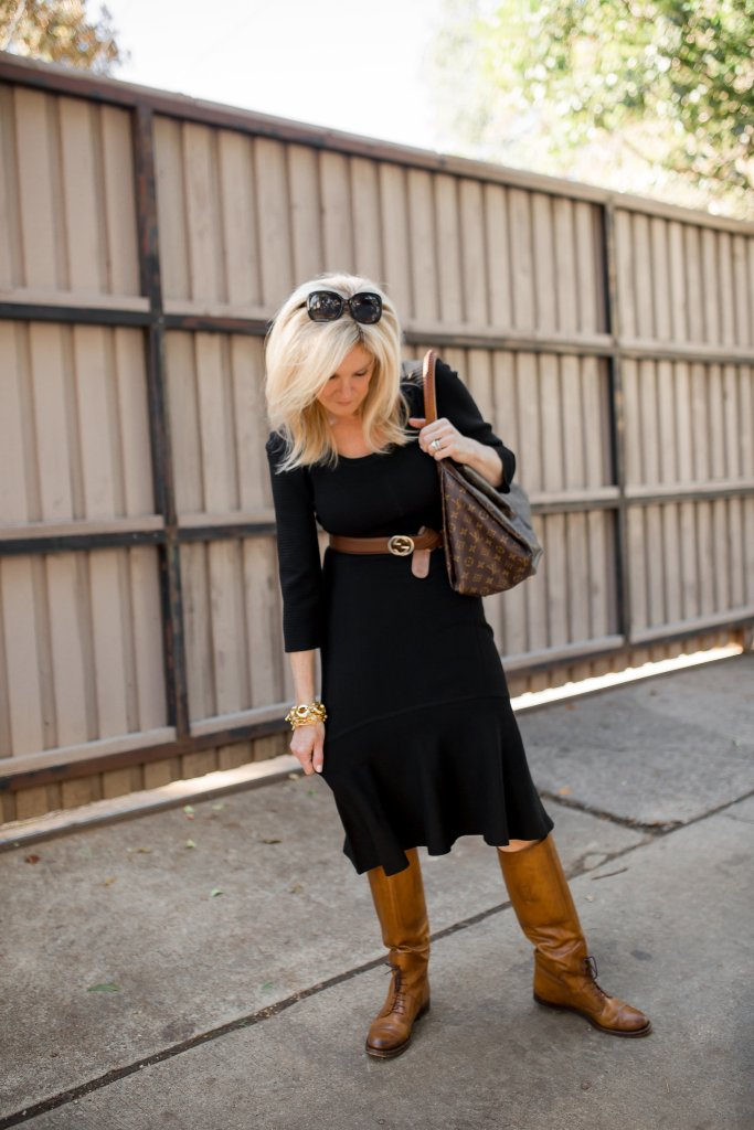 The Casual Black Sweater Dress Tanya Foster Dallas Lifestyle
