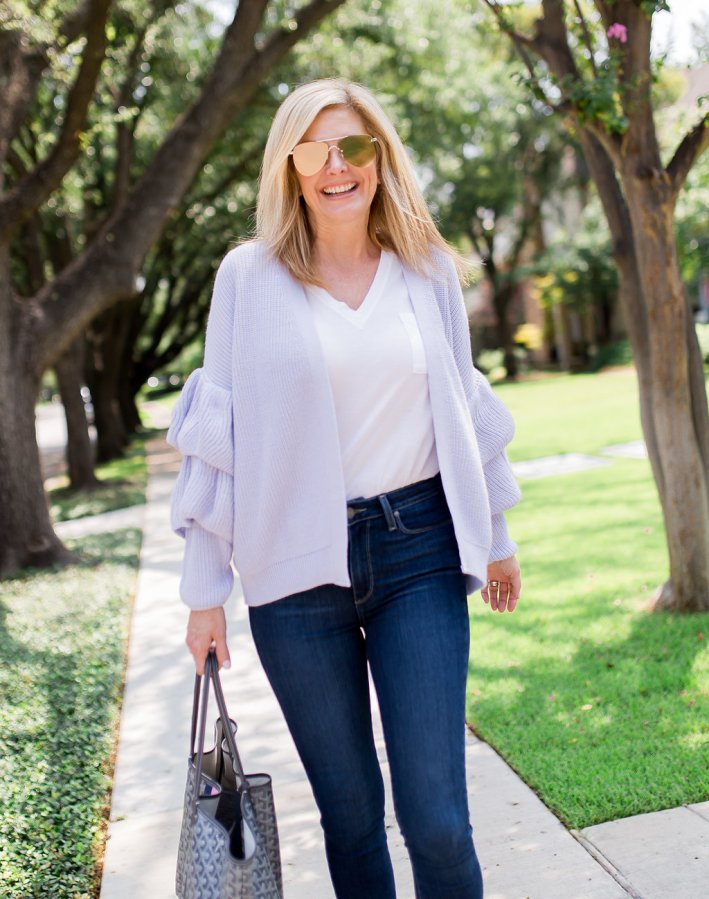 The difference between premium denim and regular denim on TanyaFoster.com with Nordstrom