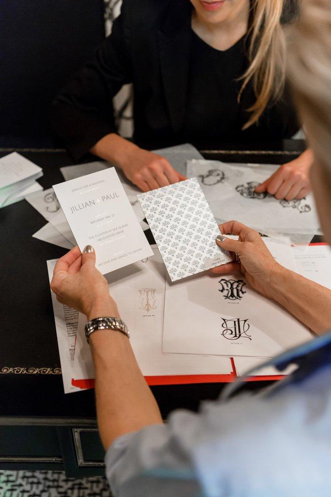 Wedding invitations with Bell'Invito Couture Stationers in Dallas, Texas