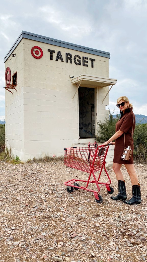 Target shot with Tanya Foster