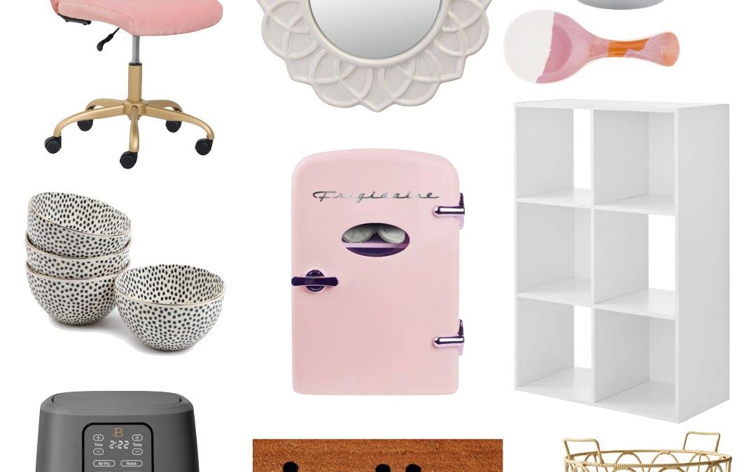 Walmart's NEW 'Wow & Now' section for fun and trendy home items