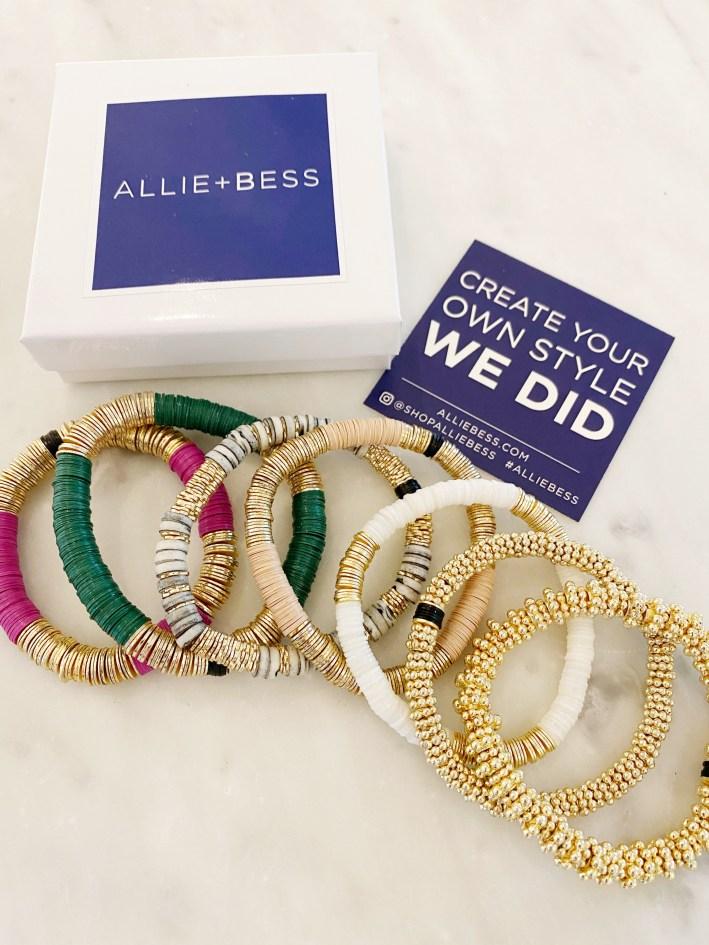allie + bess bracelets