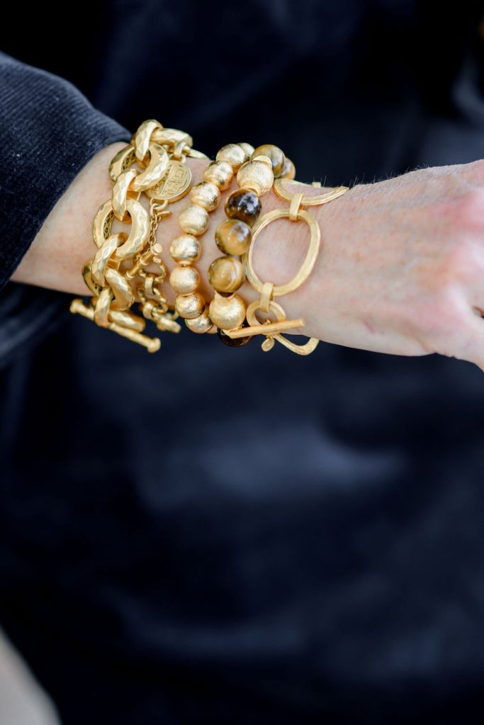 Julie vos and hazen & co. bracelet stack