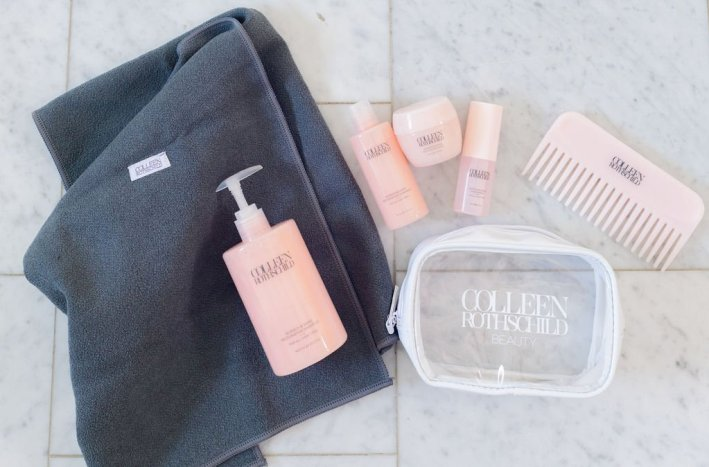 colleen rothschild hair product discovery kit