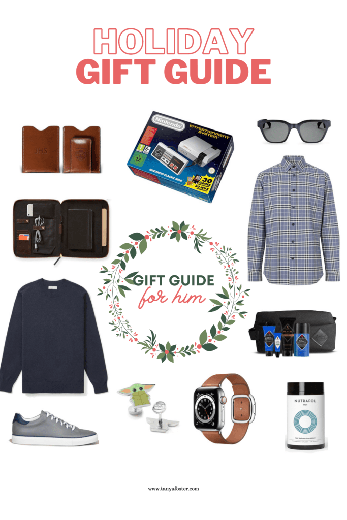gift guide for him holiday gift guide 2020