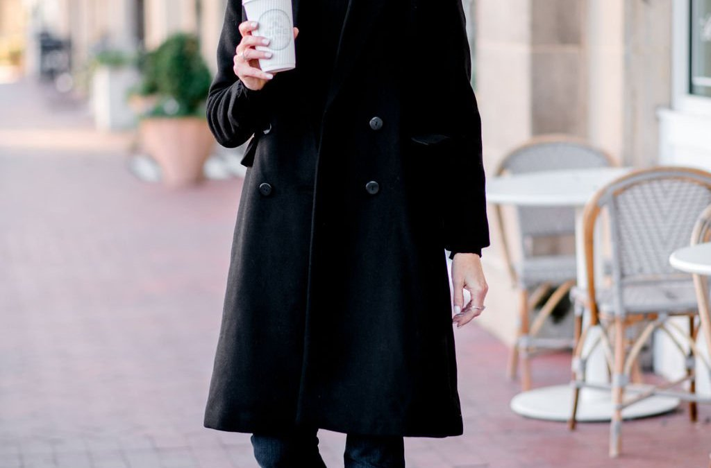 How to Style a Black Coat