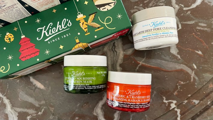 give the gift of kiehl's face mask products