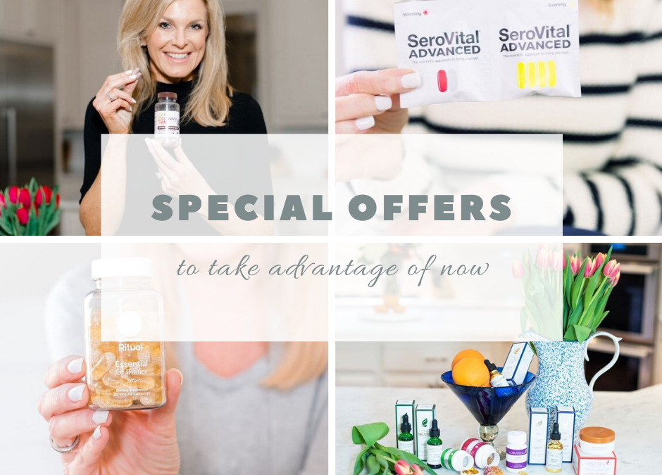 Special Offers on TanyaFoster.com