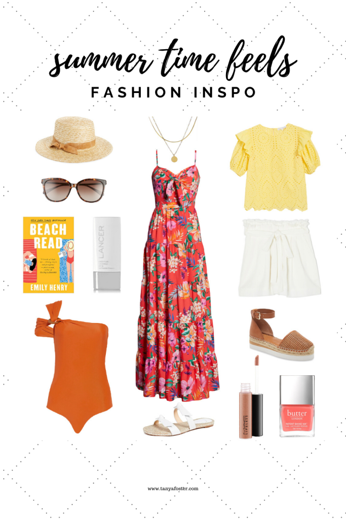 all the summer time feels fashion inspo