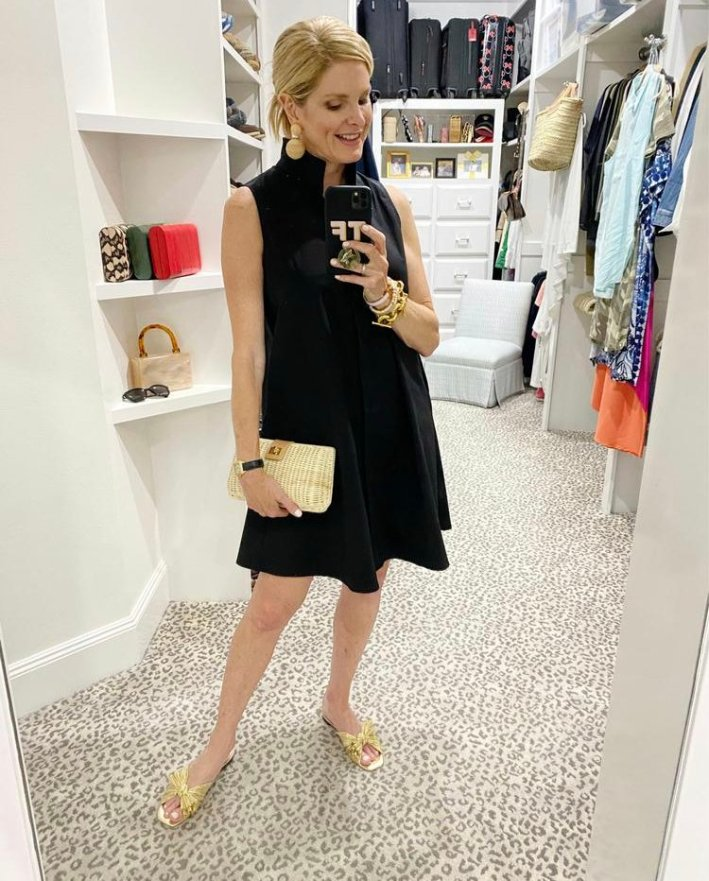 tanya foster in tuckernuck black charlie dress