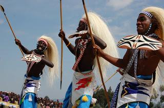 In the heart of Africa - dancing Rwanda