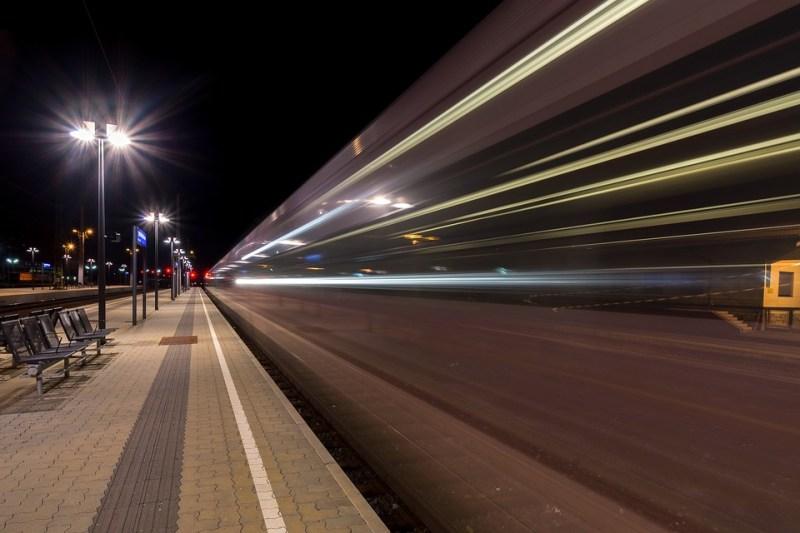 One Night in a Train in Europe