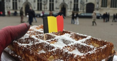Waffles in Belgium
