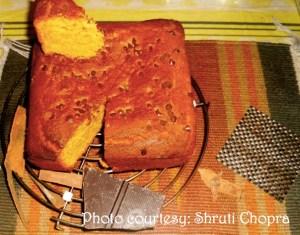 How to make homemade Pumpkin cake