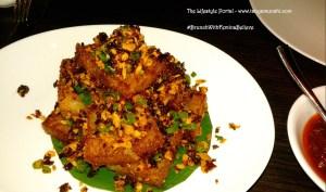 The naughty & spicy Carrot Cake @ Hakkasan