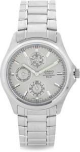 Casio Men Steel-toned Dial Watch