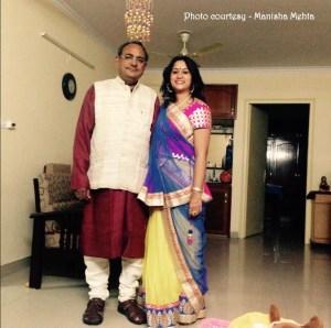 Manisha Mehta & her Dad