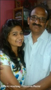 Apoorva Mairal & her Father