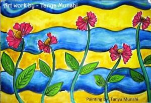 painting by tanya munshi