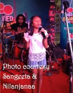 Nilanjanaa singing