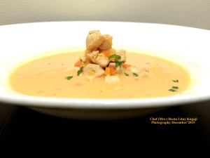 Chicken soup with Lemongrass Tom Kha kai