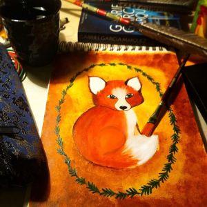 Artwork by Rithika, Pyjama Party