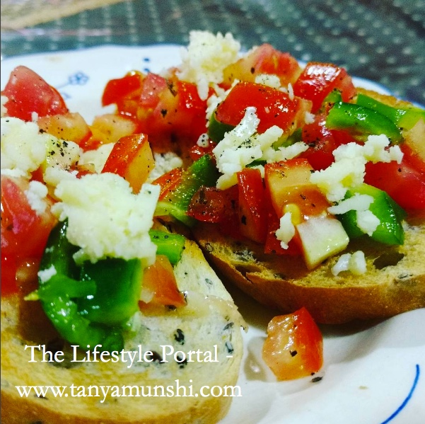 Quick & Simple Bruschetta