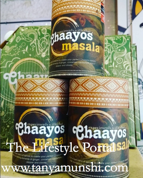 Masala Chai on sale at Chaayos