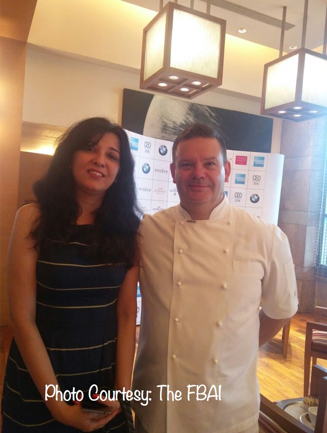 With Gary Mehigan