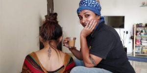 Heerkani - the Tattoowali at work