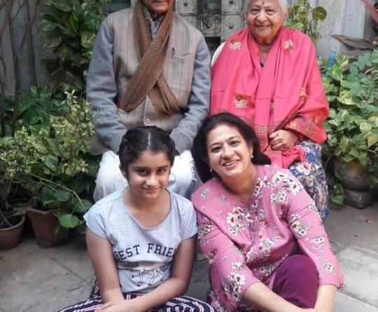 Poyani Mehta & her family