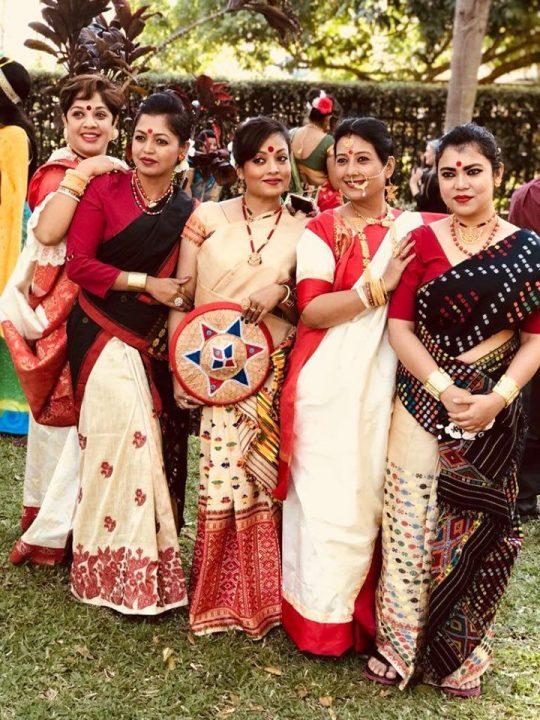 Bihu nasonis with Bengal Beauties